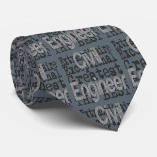 Civil Engineer Extraordinaire Neck Tie