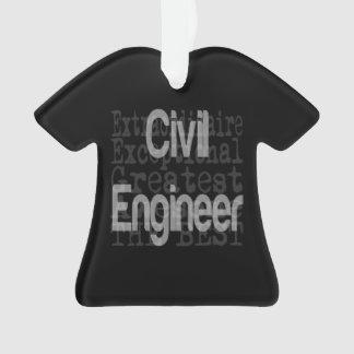 Civil Engineer Extraordinaire Ornament