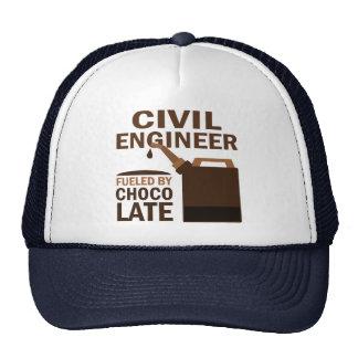 Civil Engineer (Funny) Chocolate Trucker Hat
