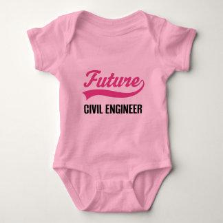 Civil Engineer (Future) Child Baby Bodysuit