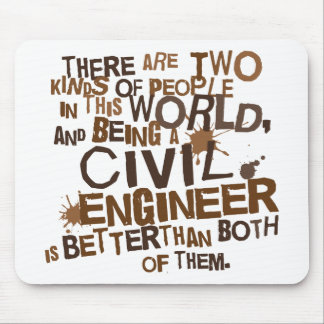 Civil Engineer Gift Mousepad