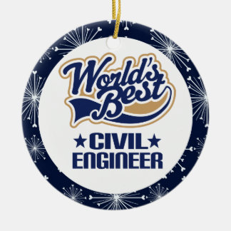 Civil Engineer Gift Ornament