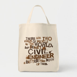 Civil Engineer Gift Tote Bag