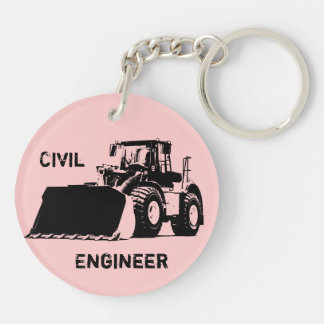Civil Engineer Keychain