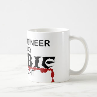 Civil Engineer Zombie Mugs
