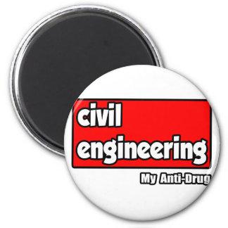 Civil Engineering...My Anti-Drug Refrigerator Magnet