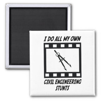Civil Engineering Stunts Magnet