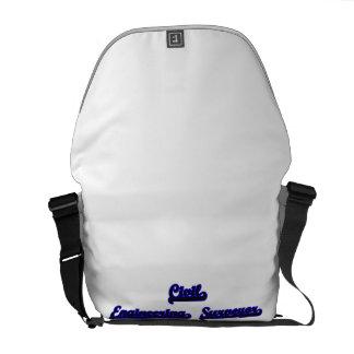 Civil Engineering Surveyor Classic Job Design Courier Bag