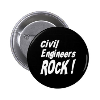 Civil Engineers Rock! Button