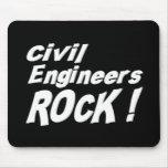 Civil Engineers Rock! Mousepad