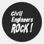 Civil Engineers Rock! Sticker