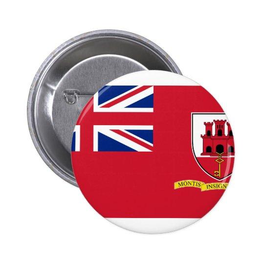 Civil Ensign Gibraltar, United Kingdom Button