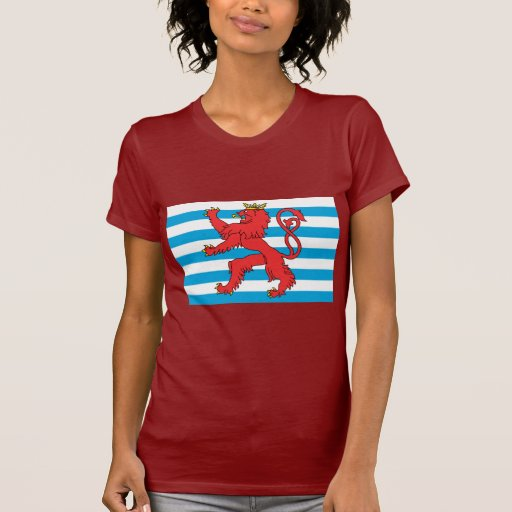 Civil Ensign Luxembourg, Luxembourg Tee Shirt