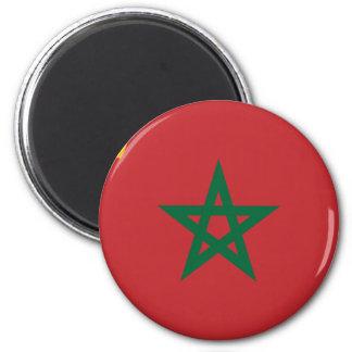 Civil Ensign Morocco, Morocco 2 Inch Round Magnet