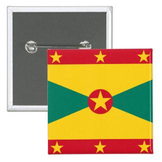 Civil Ensign Of Grenada, Greenland flag Pinback Button