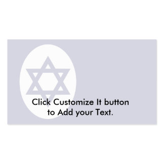 Civil Ensign Of Israel, Isle of Man Double-Sided Standard Business Cards (Pack Of 100)