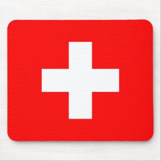 Civil Ensign Of Switzerland, Sweden flag Mouse Pad