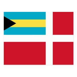Civil Ensign Of The Bahamas, Bahamas flag Postcard