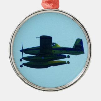 Civil Guard Seaplane. Metal Ornament