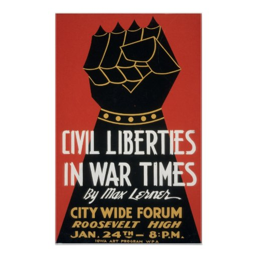 Civil Liberties in War Times Print