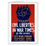 Civil Liberty WWII 1940 WPA