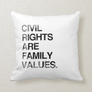 CIVIL RIGHTS ARE FAMILY VAL Faded.png Pillows