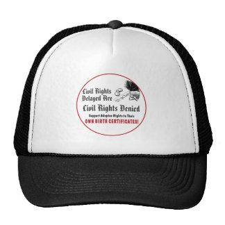 Civil Rights Delayed Trucker Hats