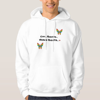 CIVIL RIGHTS... HUMAN RIGHTS... HOODIE