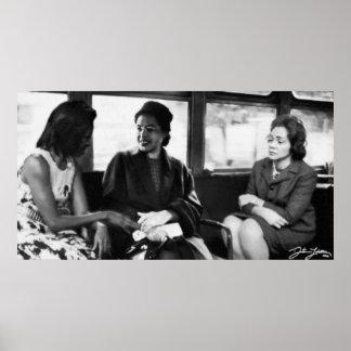 Civil Rights Ladies Poster