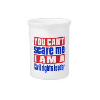 Civil rights leader scare designs pitchers