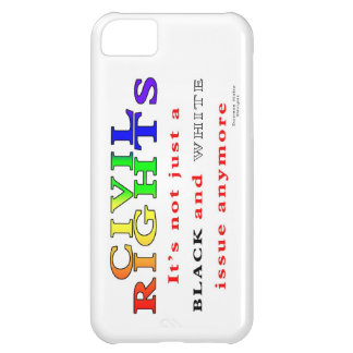 Civil Rights, Not Just Black and White Cover For iPhone 5C
