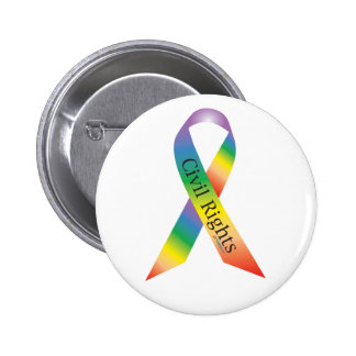 Civil Rights Ribbon Button
