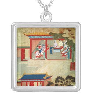 Civil Service Exam Under Emperor Jen Tsung Custom Jewelry
