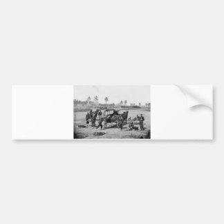 Civil War Ambulance Crew Bumper Sticker