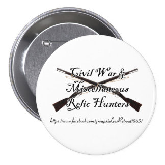 civil war and misc relic hunters button
