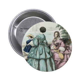 Civil War Antebellum Fashion Ladies Ball Gown Pin