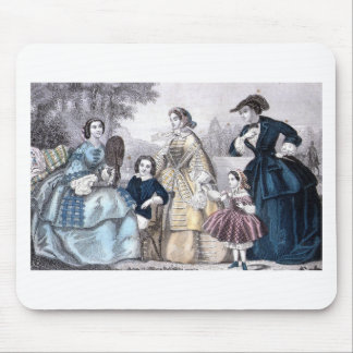 Civil War Antebellum Fashion Ladies Ball Gown Mouse Pad
