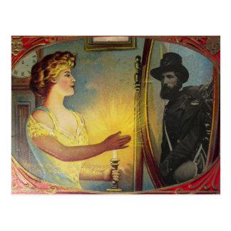 Civil War Apparition (Vintage Halloween Card) Postcard
