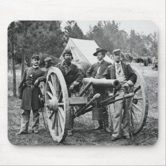 Civil War Artillery, 1860s Mouse Pad