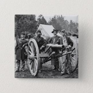 Civil War Artillery, 1860s Pinback Button