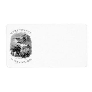 Civil War Avery Label