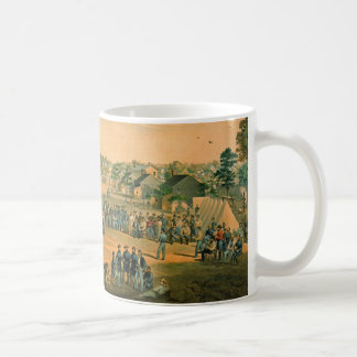 Civil War Baseball 1863 Coffee Mug