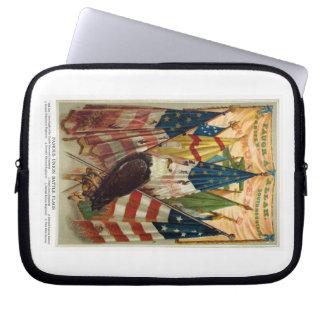 Civil War Battle Flags no.1 Laptop Sleeve