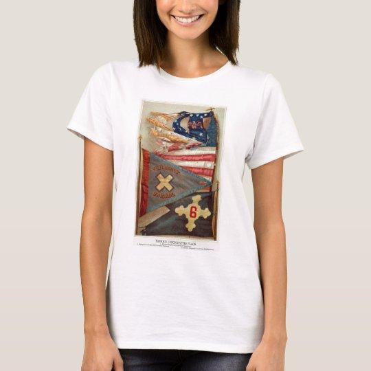 Civil War Battle Flags no.2 T-Shirt