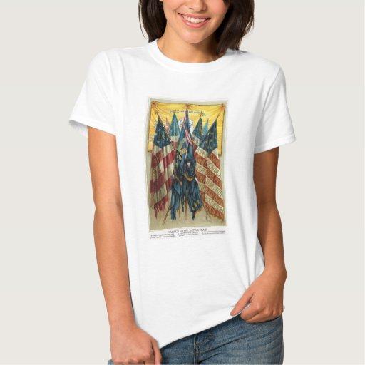 Civil War Battle Flags no.3 Tshirt