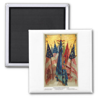 Civil War Battle Flags no.6 Magnet