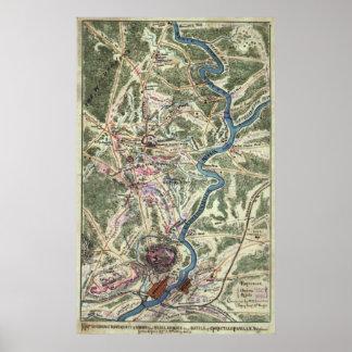 Civil War Battle of Chancellorsville Poster