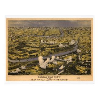 Civil War Battle of Chickahominy Riv. June 27 1862 Letterhead