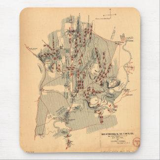 Civil War Battle of Chickamauga Sept 19 & 20 1863 Mouse Pad