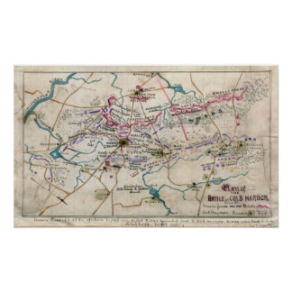 Civil War Battle of Cold Harbor Print